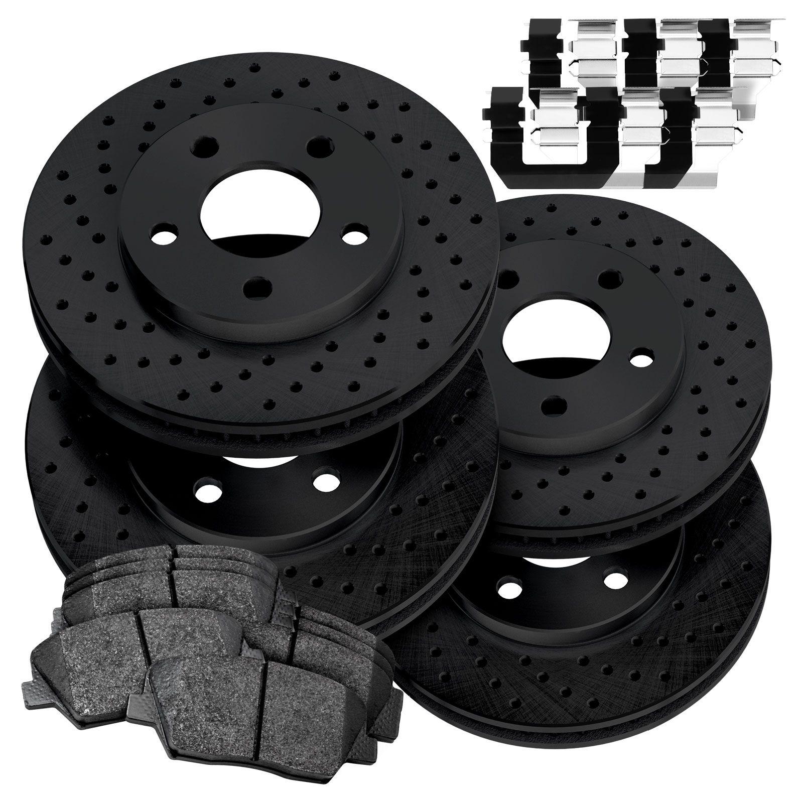 2003 2004 2005 2006 Fits Kia Sorento Rotors Ceramic Pads F+R OE Replacement