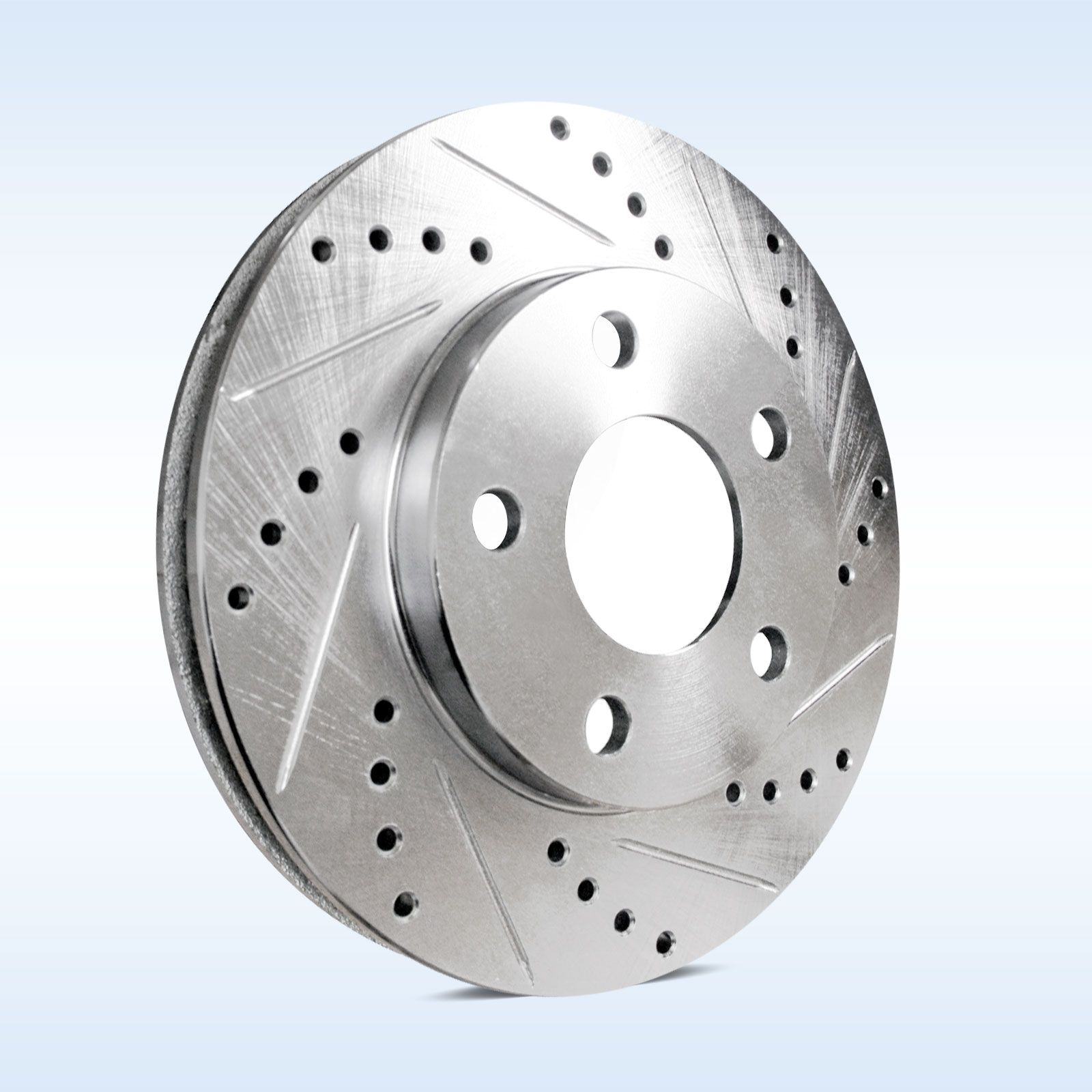 Brake-Rotors-FULL-KIT-POWERSPORT-DRILLED-SLOTTED-BMW-318i