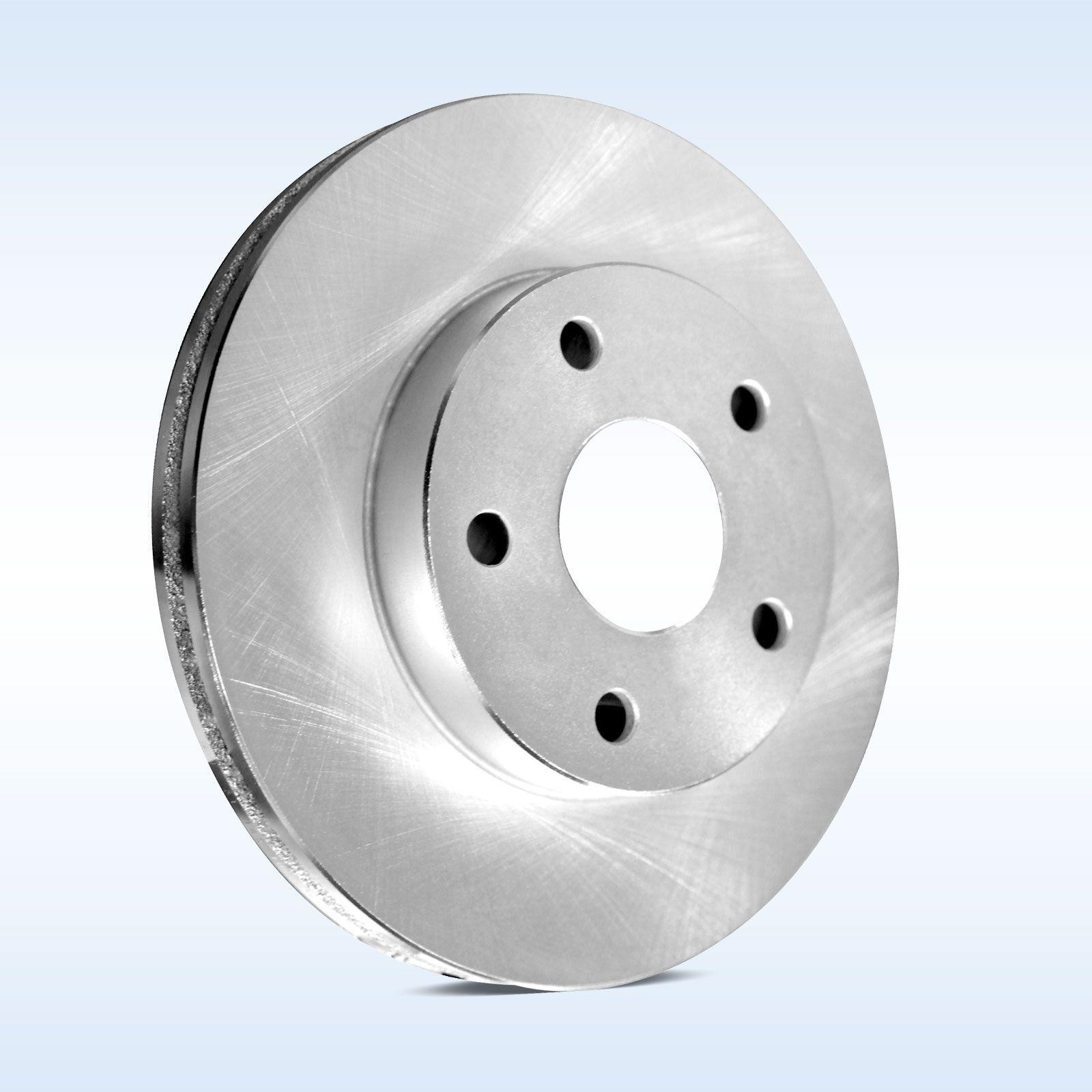 Brake Pad Replacement : Front replacement brake rotors and ceramic pad