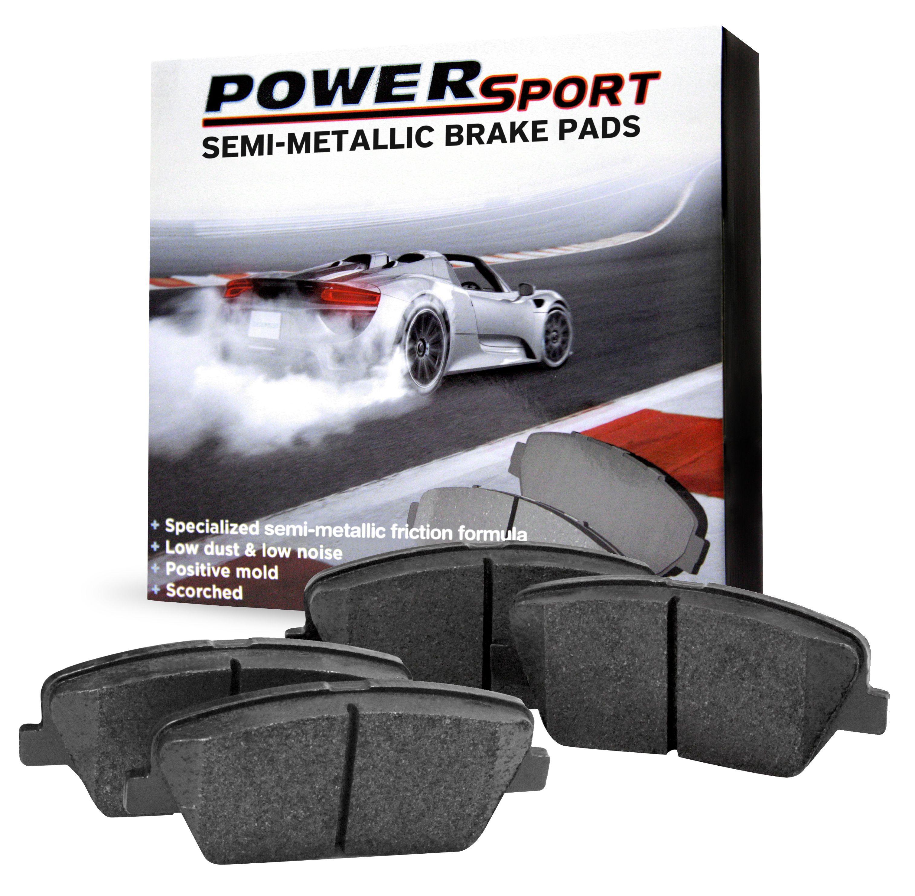 For 2005-2014 Land Rover LR3 Range Rover Sport LR4 Rear  Ceramic Brake Pads