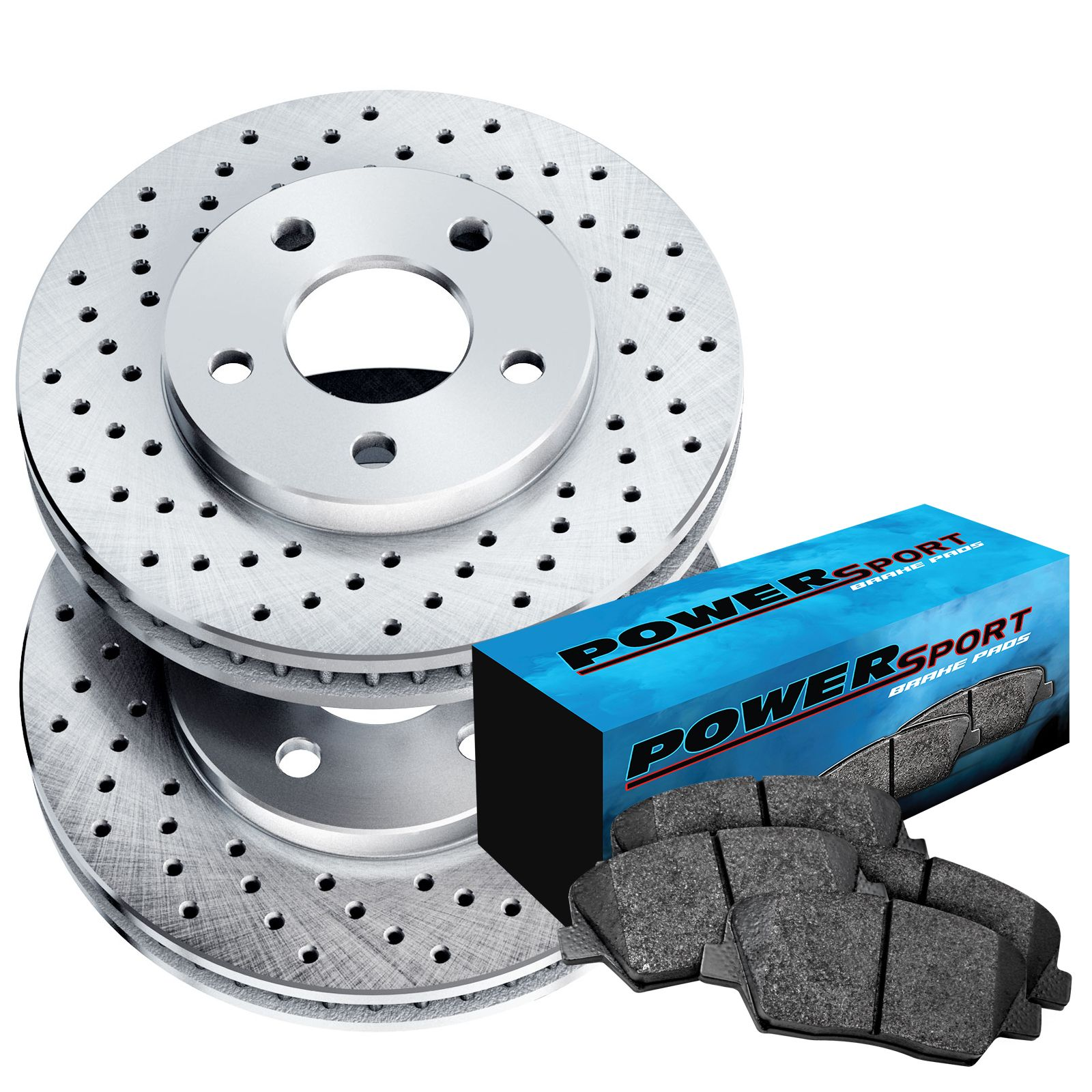 Fits Suzuki Grand Vitara Front Black Drill Slot Brake Rotors+Ceramic Brake Pads