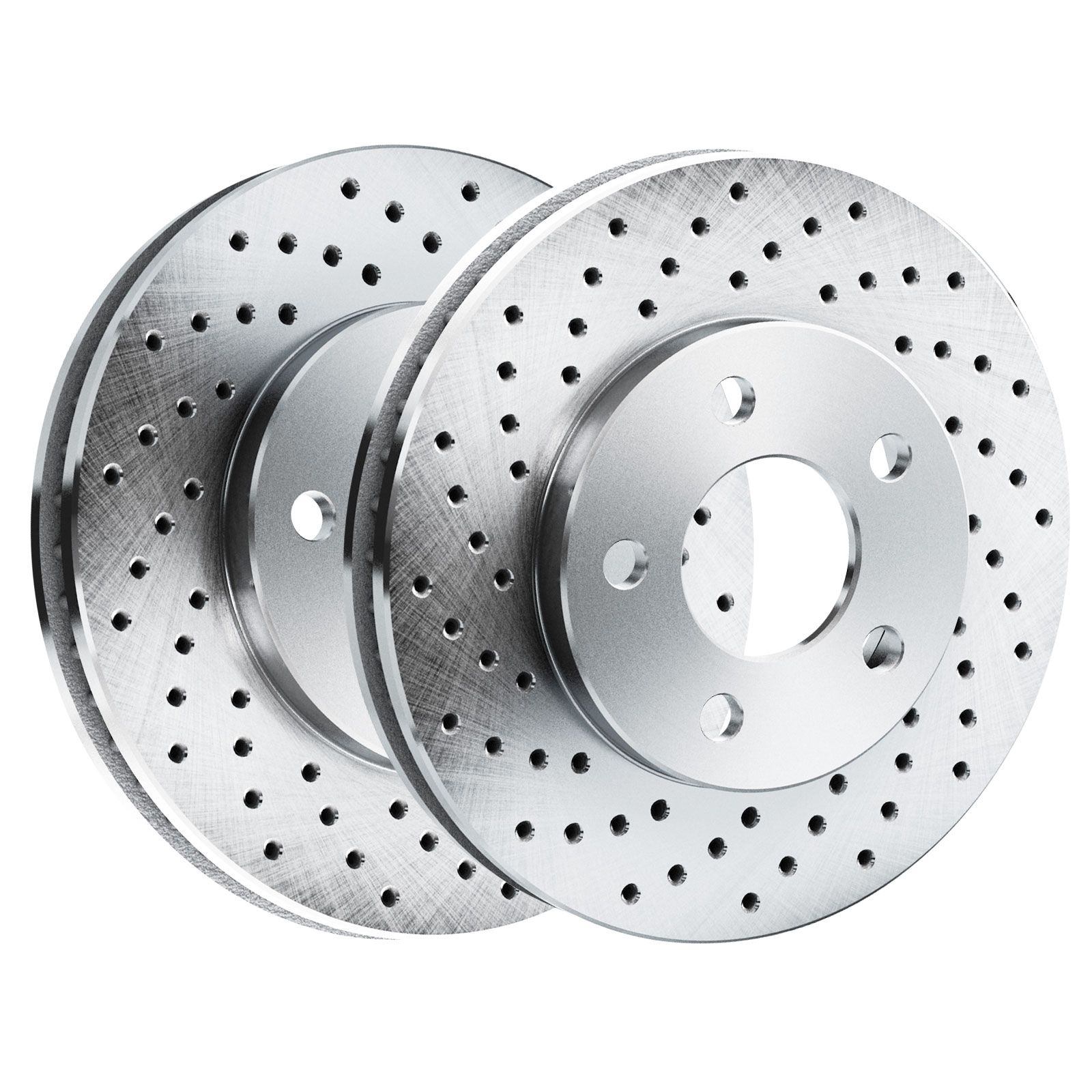 Brake Rotors POWERSPORT *CROSS DRILLED* Disc BL45200 2 Rear