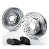 Brakelabs Drilled Rotors Kit
