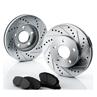 Brakelabs Drilled & Slotted Rotors Kit