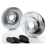 Brakelabs Slotted Rotors Kit