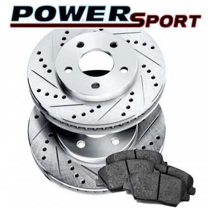 Part Image Drilled And Slotted Rotors Kits big image