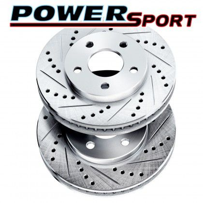 Part Image Cross Drilled And Slotted Rotors big image